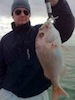 Moreton Bay Charters Snapper on soft plastics