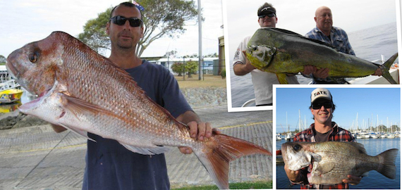 9 hour offshore fishing trips departing Manly QLD