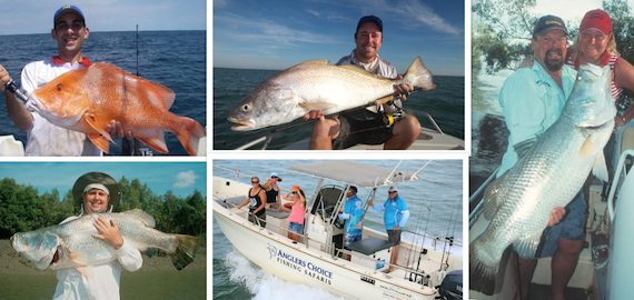 Catch the Dundee Beach NT Trifecta: barramundi, jewfish and sailfish all in one day!