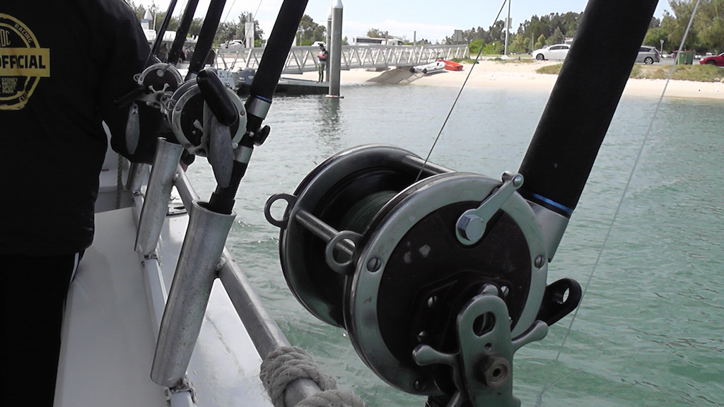 Avenger Fishing Charters - Gold Coast - Shimano Blue Water series, Penn Senator reels with braid