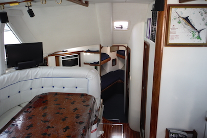 Our new bigger boat takes up to  6 anglers on liveaboard trips