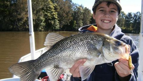 Fishing charters for all ages - Aussie Bass