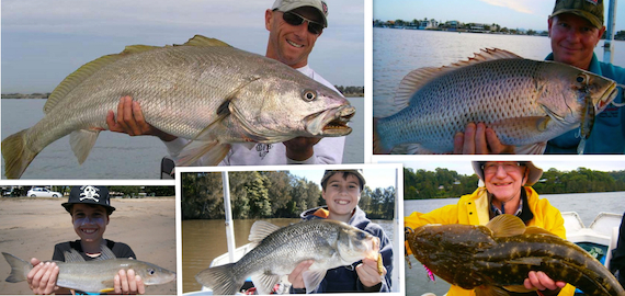 Gold Coast calm water charters with expert guide