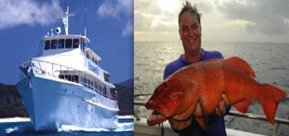 3 or 7 nights fishing The Great Barrier Reef ex Mackay