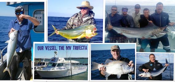 Deep sea, game and estuary fishing charters departing South West Rocks