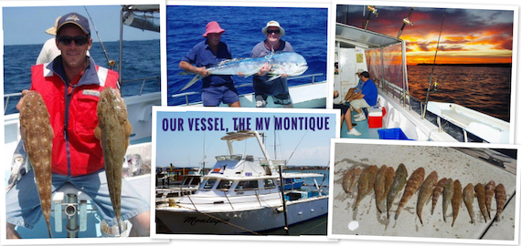 Deep sea, game and estuary fishing charters departing Stockton/Newcastle