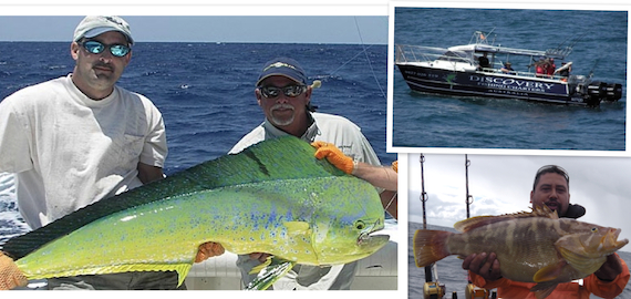 5 hour Gold Coast deep sea fishing trips $130pp