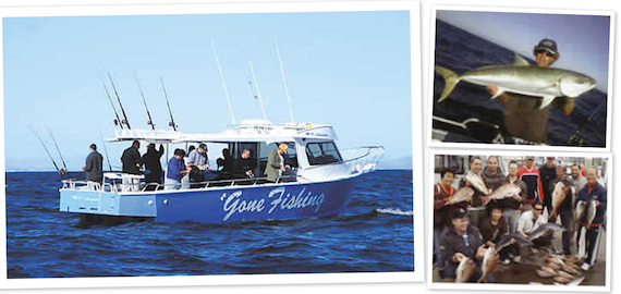 Half day 5 hour Gold Coast offshore fishing charter $130pp