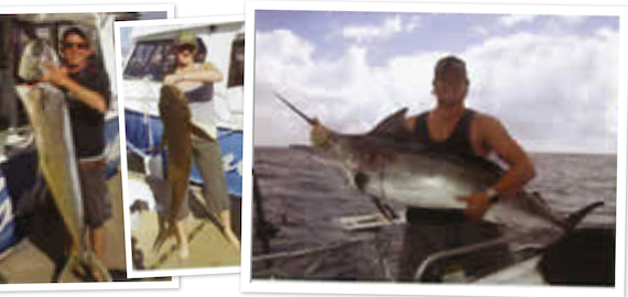 Full day 9 hour Gold Coast offshore fishing charter $185pp