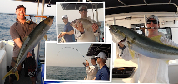 Quality offshore charters ex Scarborough QLD from $230pp